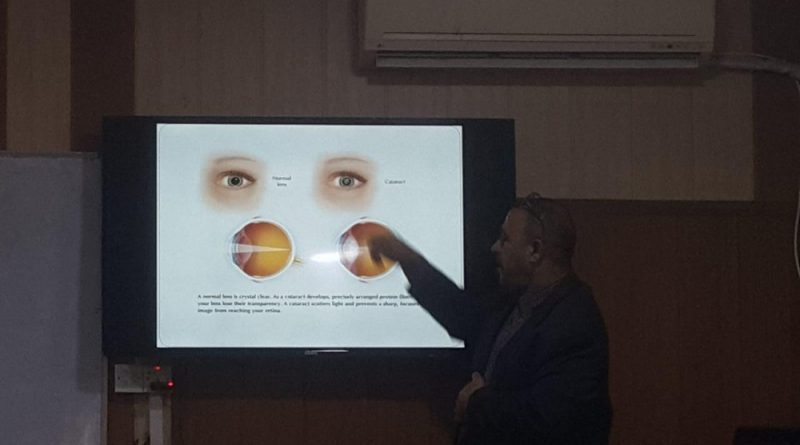 """Faculty of Pharmacy organized a Symposium entitled   """"The Role of Antioxidant to Protect Eyes"""""""