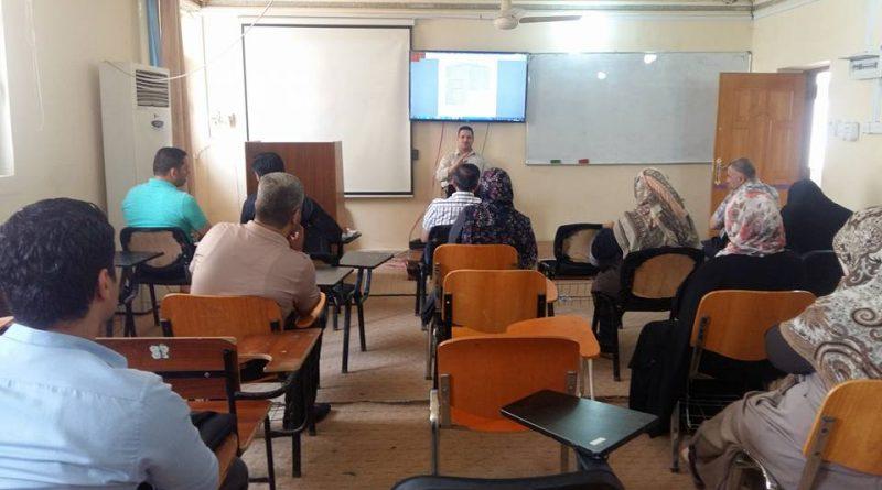 تقنية PCR ..دورة علمية تقيمها صيدلة جامعة كربلاء
