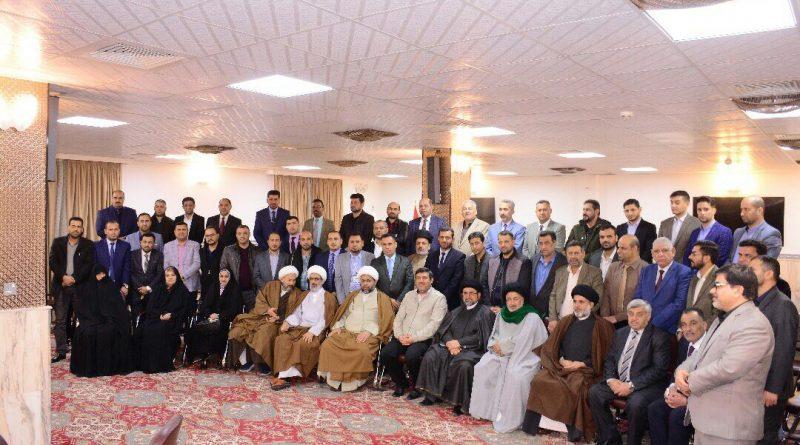 اساتذة من صيدلة جامعة كربلاء يشاركون في دورة تقيمها العتبة الحسينية المقدسة