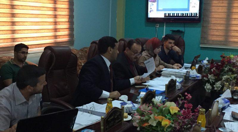 كلية الصيدلة تستقبل لجنة وزارية تدقيقية