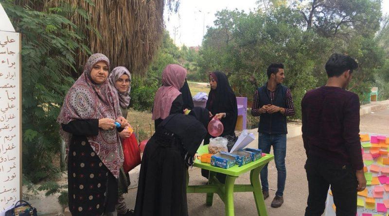 طلبة كلية الصيدلة يقيمون احتفالية بمناسبة المولد النبوي الشريف