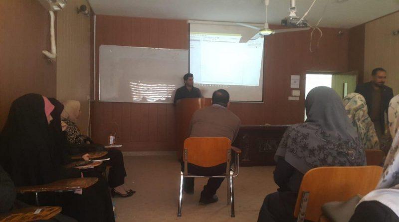كلية الصيدلة بجامعة كربلاء تقيم دورة مجانية لثلاث ايام